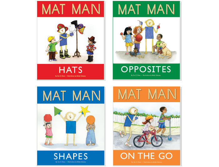 Mat Man® Book Set