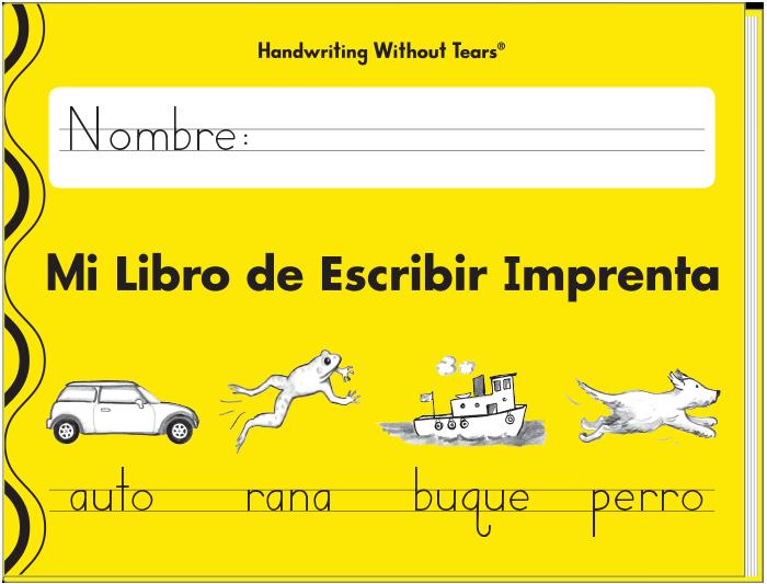 Mi Libro de Escribir Imprenta (Spanish)