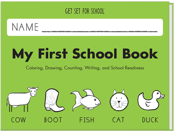 My First School Book | Learning WIthout Tears