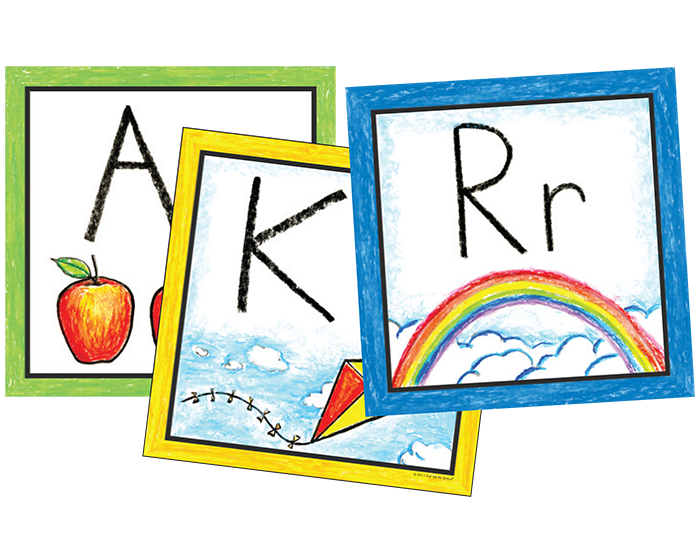 Pre-K Color Wall Cards