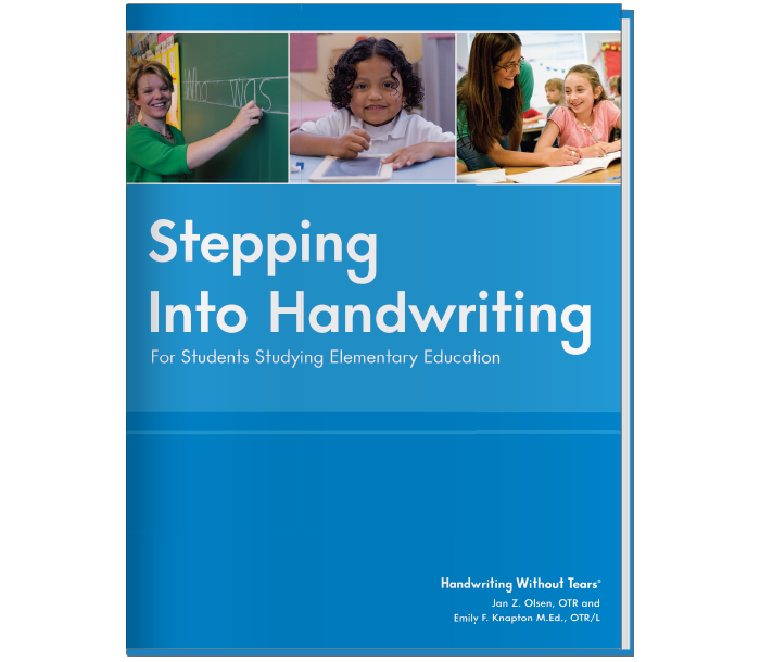 Stepping into Handwriting: For Students Studying Elementary Education