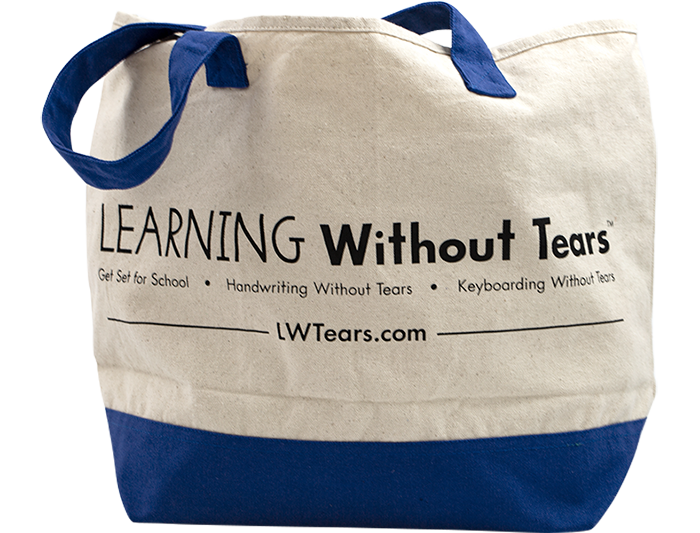 Canvas Learning Without Tears Bag