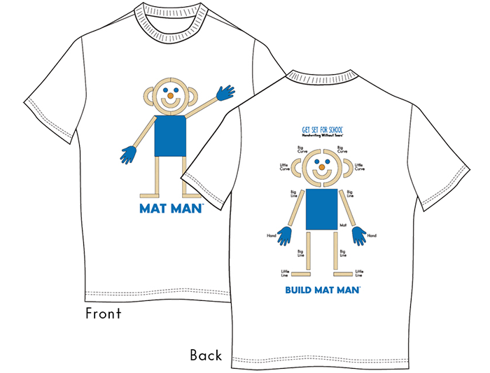 Mat Man® Shirt (Adult Large)