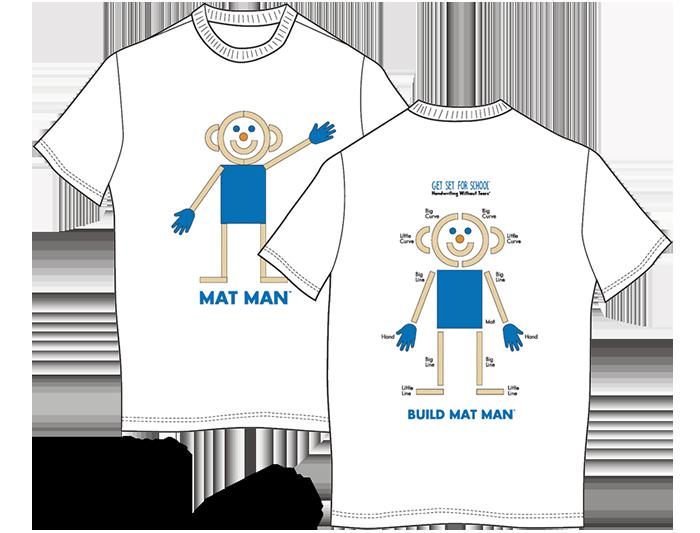Mat Man® T-Shirt (Youth Small)