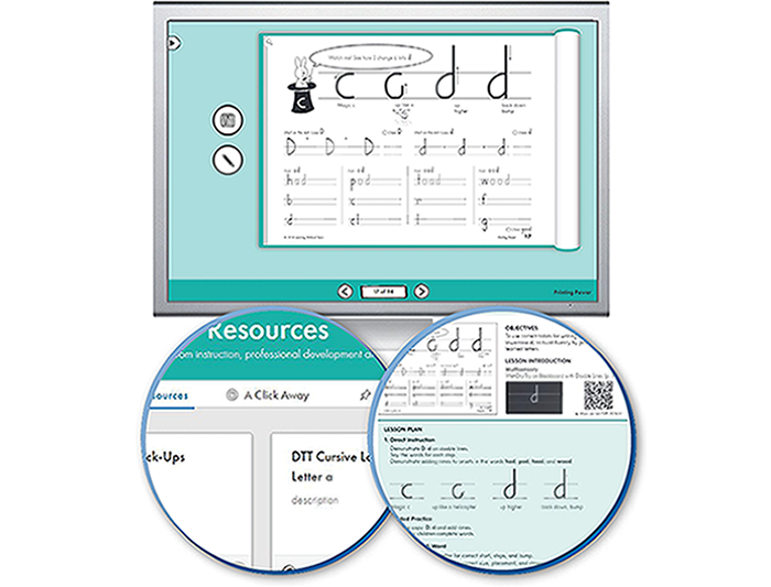 HITT: The Handwriting Interactive Teaching Tool™ - 2nd Grade - Printing Power (1-year educator license)