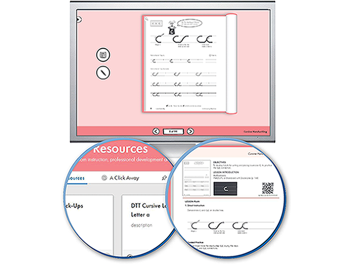 HITT: The Handwriting Interactive Teaching Tool™ - 3rd Grade (1-year educator license)