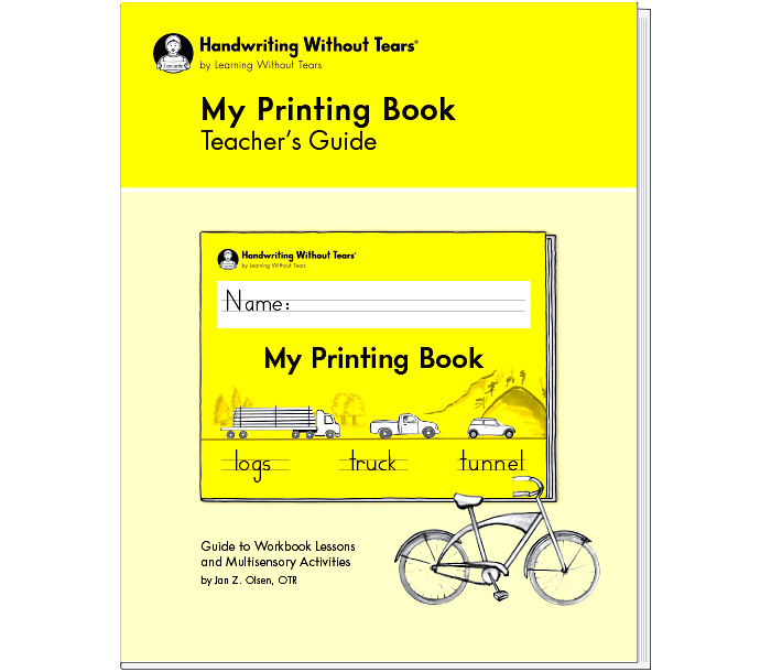 My Printing Book Teacher's Guide