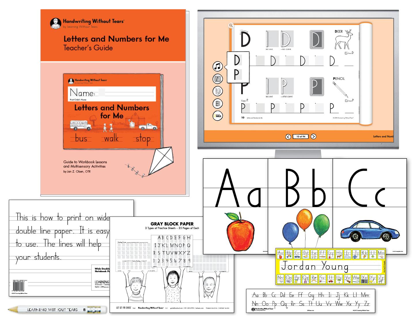 Kindergarten Teacher Kit A with Teacher's Guide