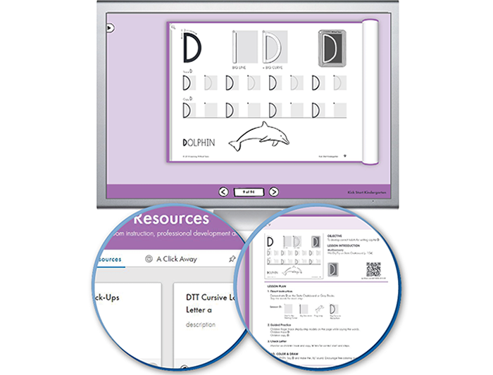 HITT: The Handwriting Interactive Teaching Tool™ - Transitional K (1-year educator license)